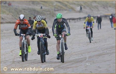 Sven maakte nog veel goed in de laatste kilometers. Foto: Rob Duin