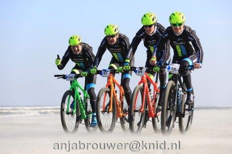 De mannen tijdens de toertocht! - Foto: Anja Brouwer